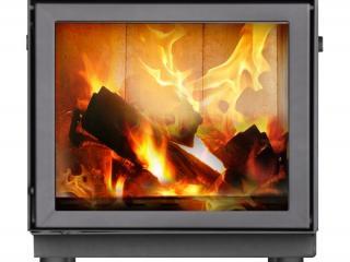 Огонь в камине Makroterm