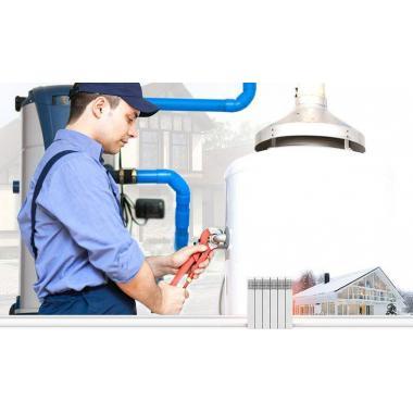 Делаем системы отопления, горячую воду и канализацию.